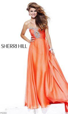 Long Sherri Hill Dress 2845 SH-2845