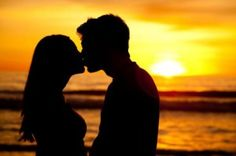 Kissing is one way of expressing the love between two people, which involves touch, smell and sense of taste.