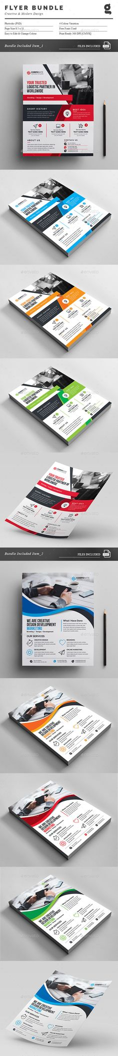 Flyer Bundle Template PSD