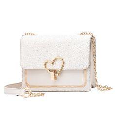 Newest Shoulder Bags Crossbody Bags For Women Cute Chain black Handbag fashion bags women leather hand bags for Ladies - GirlFull: Fashion Pink Handbags, Fashion Handbags, Fashion Bags, Leather Handbags, Ladies Handbags, Womens Fashion, Leather Crossbody Bag, Clutch Bag, Tote Bag