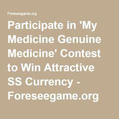 Online Contest, Ss, Medicine, Medical