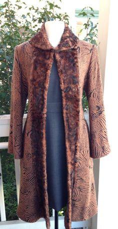 Donna Garrett Fur Trim Coat Size 8/10     Was $199 Now $159.20  (20)
