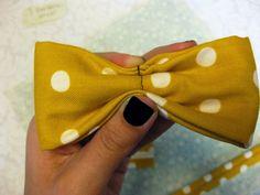 DIY Bow Tie - Baby sized (or teddy bear sized!)