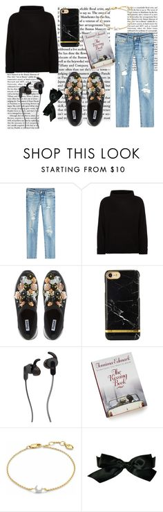 """""""..."""" by dafnnefer ❤ liked on Polyvore featuring True Religion, Jaeger, Dune, JBL, Missoma and Chanel"""