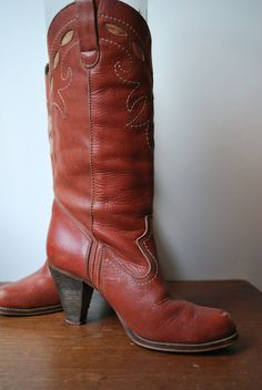 cowboy boot...usually don't like them but these are kinda cute
