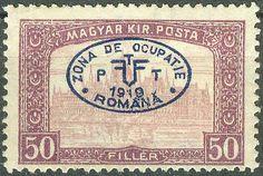 Hungary Romanian Occupation Debrecen 1919, Parliament Mi.# 26, MH [ref.b