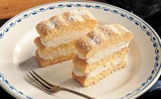 Brownie Bar, Vanilla Cake, Donuts, Food And Drink, Cooking, Sweet, Desserts, Mango, Blog