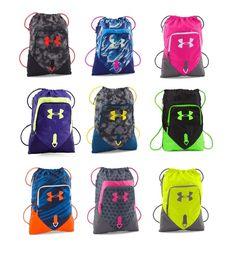 Under Armour UA Undeniable Drawstring  Sackpack 1261954 Multiple Colors #UnderArmour #ToteBag