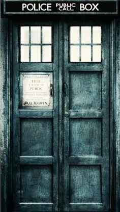 Doctor who tardis door