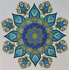 Mandala Book, Mandala Doodle, Mandala Artwork, Doodle Art, Adult Coloring, Coloring Books, Coloring Pages, Doodle Patterns, Zentangle Patterns