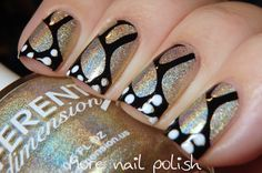 Different Dimension Family with Butterfly Wings ~ More Nail Polish