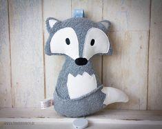 """Spieluhren - Bio Spieluhr """"Filou der Fuchs"""" Frottee grau/Bleu - ein…"""