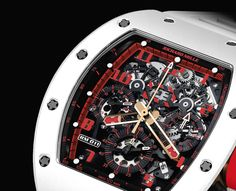 Presenting the New Richard Mille RM011 Flyback Chronograph 'White Demon'. A 30-Piece Limited Edition.