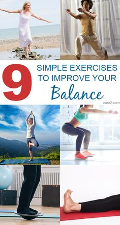 Having good balance isn't just for gymnasts and dancers. Everyone can benefit from practicing some exercises to improve balance.