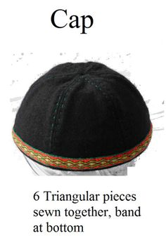 Yer Heade Part I Jack requests this as his hat to wear.Jack requests this as his hat to wear. Medieval Hats, Medieval Costume, Medieval Dress, Renaissance Hat, Norse Clothing, Medieval Clothing, Historical Clothing, Historical Photos, Viking Garb