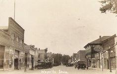 Iowa town 1920s