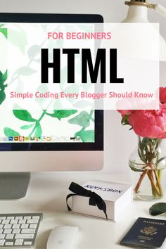 Here are the HTML for Beginner basics that every blogger should know. The beauty of Wordpress is that not much coding is needed but these are super easy!