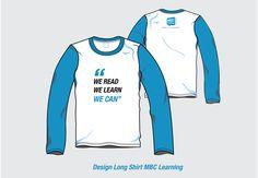 Design Long Shirt MBC Learning..