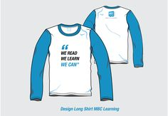 Design Long Shirt MBC Learning..