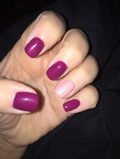Fall Mani #shellac #gelish