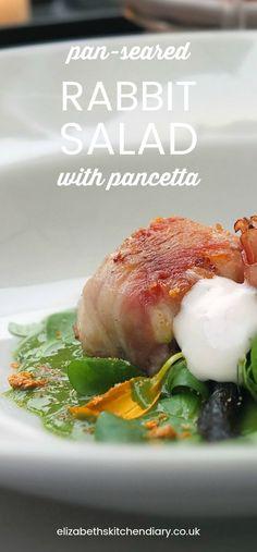 A recipe by Luca Bombardelli from Villetta Annessa in Riva del Garda, Italy. #rabbit