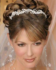 Bel Aire Bridal Head Piece - 8434