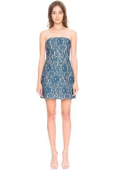 Keepsake every way lace mini dress