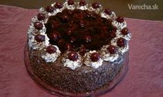 Višňovo-čokoládová torta (fotorecept)