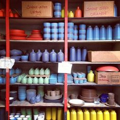 Heath Ceramics in Sausalito... go for the seconds and thirds