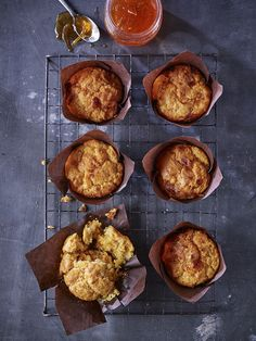 Sweet or savoury!? Why not try a bit of both in one muffin!!   Fancy trying out these Seville Marmalade, Cheddar And Chilli Muffins ? Enjoy...