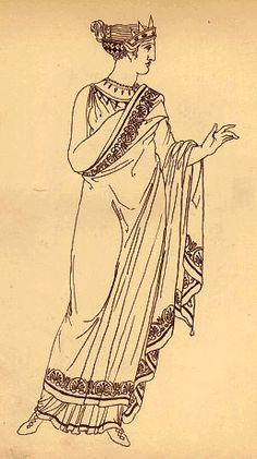 Posts about ancient greek female costume written by hellenismo Ancient Egyptian Art, Ancient Rome, Ancient Greece, Ancient Greek Clothing, Greek Dress, Greek Mythology Art, Greek Fashion, Pictures To Draw, Drawing Pictures