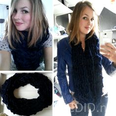 Arm knitting infinity scarf. 30 minutes knitting, no sewing. Easy and soooo cute and warm