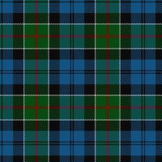 ~+~+~ Colquhoun Tartan ~+~+~   This clan takes its name from the county of Dunbarton.  These lands were granted by Malcolm, Earl of Lennox in the time of Alexander ll.   After a horrible battle with the MacGregors in 1602 the Colquhouns were defeated and their chief killed. The MacGregors were proscribed and their name forbidden under pain of death. At the end of the 18th century the chiefs of the two clans finally met and shook hands on the very site of the former slaughter.