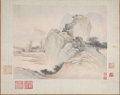 Landscapes Painted for Yuweng Fan Qi  (Chinese, 1616–after 1694) Period: Qing dynasty (1644–1911) Date: dated 1673