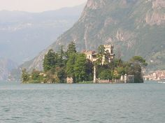 The island of Loreto is located in Lake Iseo, north of Monte Isola, is privately owned. At the end of the 15th century, the island was purchased by St. Clare Sisters of Brescia, who set up a convent. The structure was abandoned by 1580. The island is registered in the census map of Siviano, a village in the municipality of Monte Isola. In 1696 Vincenzo Coronelli, a Venetian geographer, recalls the island as owned by the heirs of Count Alessandro Martinengo.