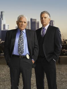 G.W. Bailey and Tony Denison in The Closer (2005)