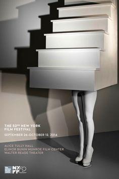 The Hollywood Reporter - 2014 New York Film Festival Poster Designed by Lena Dunham's Mother