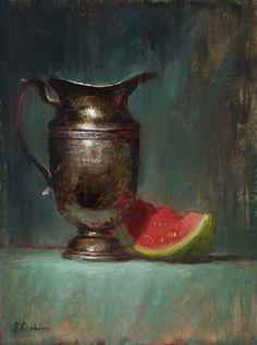 Artist Elizabeth Pruitt   Elizabeth Robbins Pruitt - Still Life Artist and Portrait Painter