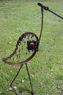 Kathi's Garden Art Rust-n-Stuff: Keys and Doorknob