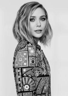 Elizabeth Olsen photographed by Chris Nicholls for Fashion Magazine (May 2015)