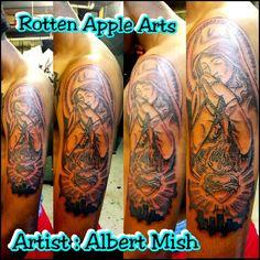Rotten Apple Arts. Artist : Albert Mish