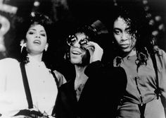 Prince, Cat, and Sheila E. in Sign 'o' the Times (1987)