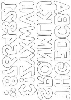 Printable Letters To Use With My Crafts  Alphabets Fonts