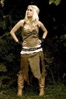 Daenerys Targaryen Costume Cosplay a Game of Thrones | by heynadine