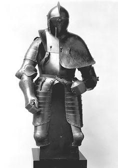 Jousting armor (Rennzeug) ca. 1580–90 Culture: German, probably Dresden or Annaberg