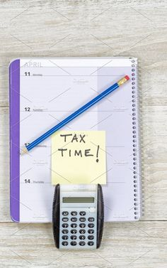 Income Tax Reminder by Tigerpix LLC on Llc Business, Business Photos, Small Calendar, Income Tax