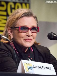 Carrie Fisher  I wish I could be half as funny as Carrie Fisher. She is my idol.