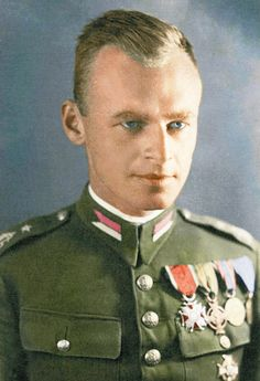 "Witold Pilecki (1901–1948). Polish Cavalry officer. He volunteered for a resistance operation to get imprisoned in Auschwitz in order to gather intelligence & escape. While in the camp, he organised a resistance movement & in 1941, informed the Western Allies of the atrocities. He escaped from the camp in 1943 & took part in the Warsaw Uprising. He remained loyal to the Polish government-in-exile & was executed in 1948 by the secret police on charges of working for ""foreign imperialism""."
