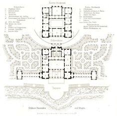 floor plan of versailles floorplan of versailles thumbnail floor plans pinterest. Black Bedroom Furniture Sets. Home Design Ideas