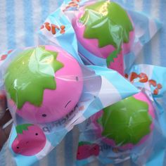 My very own ketchupgiri squishy! Produced by Puni Maru, very squishy and slow rising! Packaging designed by Ilean